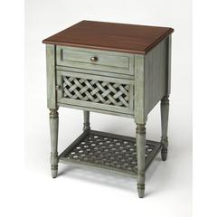 Butler Chadway Rustic Blue Nightstand