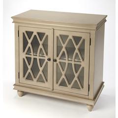 Butler Lansing Natural Wood 2 Door Accent Cabinet
