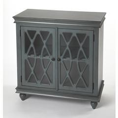 Butler Lansing Twilight Blue 2 Door Accent Cabinet