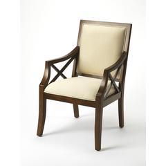 Butler Harcourt Plantation Cherry Accent Chair
