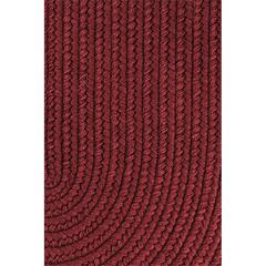 "Solid Red Wine Wool 18"" x 36"" Slice"