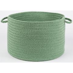 "WearEver Celadon Poly 18"" x 12"" Basket"