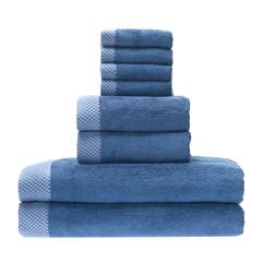 Rayon from Bamboo blend Resort Towel Bundle in Indigo