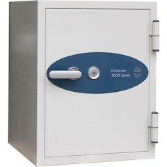 Datacare 2-Hour Key Lock Fireproof Media Safe 0.58 cu ft