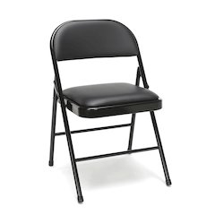 4-Pack Padded Metal Folding Chairs