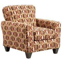 Exceptional Designs by Flash Lunar Cinnamon Accent Chair