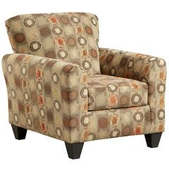 Exceptional Designs by Flash Paint Ball Honey Accent Chair