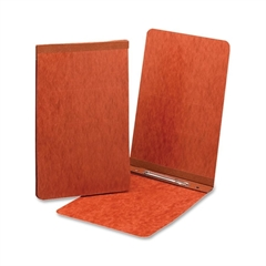 "Smead PressGuard® Report Covers with Fastener - Statement - 5 1/2"" x 8 1/2"" Sheet Size - 1 Fastener(s) - 2"" Fastener Capacity for Folder - 20 pt. Folder Thickness - Pressguard - Red - Recycled - 1"