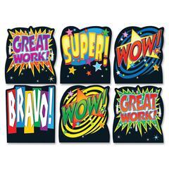 """Carson-Dellosa Positive Words Good Work Holder - 5"""" x 5.8"""" - Multicolor"""