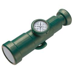 Telescope With Compass - Green