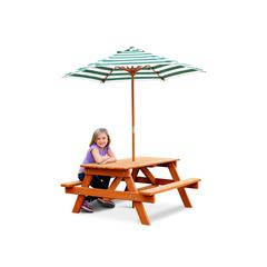 Children's Picnic Table w/ Umbrella