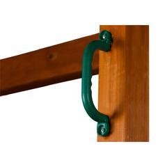 Plastic Safety Handles - Green (pair)