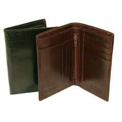 Hand Stained Italian Leather, Superior Duo Fold Wallet