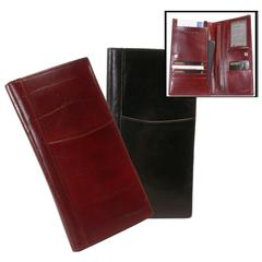 Tuscany Leather Passport and Airline Ticket Case - Travel Wallet
