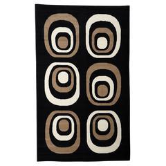 "Capri Collection, 51""W X 87""D X 0.25""H, Black"