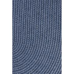 "Solid Sailor Blue Wool 18"" x 36"" Slice"