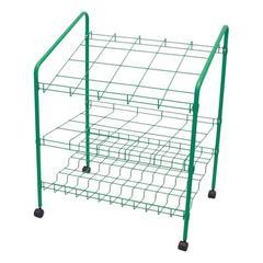 ADIR Adir Wire Bin Roll File 20 openings - Green