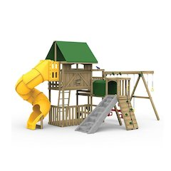 Great Escape Factory Built Gold Play Set