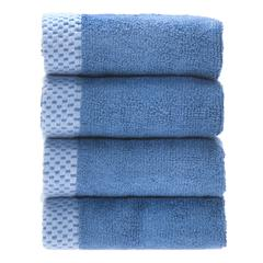 Rayon from Bamboo blend Resort Washcloth (4pk) in Indigo