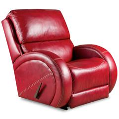 Flash Furniture Contemporary Como Red Leather Rocker Recliner