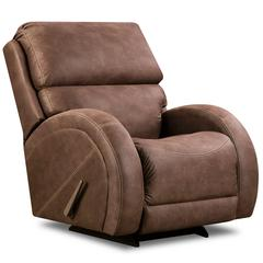 Flash Furniture Contemporary Sultry Expresso Microfiber Rocker Recliner