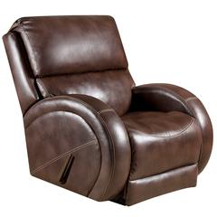 Flash Furniture Contemporary Loggins Brown Leather Rocker Recliner