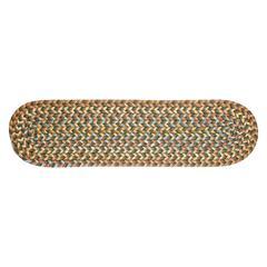 Rhody Rug Cypress Dk. Taupe 8x28 Str Trd