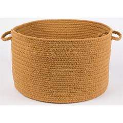 "WearEver New Gold Poly 18"" x 12"" Basket"
