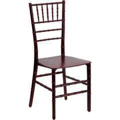 Flash Furniture Flash Elegance Mahogany Resin Stacking Chiavari Chair
