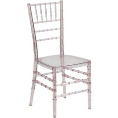 Flash Furniture Flash Elegance Crystal Pink Stacking Chiavari Chair