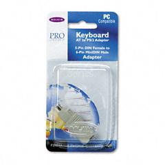 Belkin Din 5F/Mini 6M Keyboard Cable Adapter for AT, PS2 Keyboard, 6-ft
