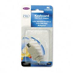 Keyboard Cable Adapter, PS/2 to AT, 2-1/2""