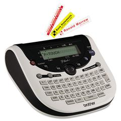 P-Touch PT-1290 Simply Stylish Home & Office Labeler, 2 Lines, 6-3/10w x 6-1/5d x 2-2/5h