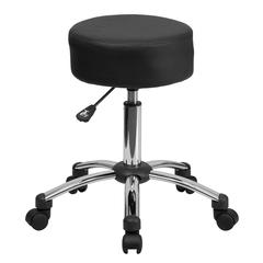 Flash Furniture Medical Ergonomic Stool with Chrome Base