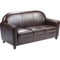 HERCULES Envoy Series Brown Leather Sofa