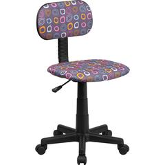 Multi-Colored Pattern Printed Computer Chair