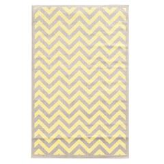 "Capri Chevron Grey 4'4""X7'3"""