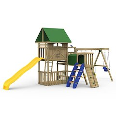 Great Escape Factory Built Bronze Play Set