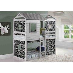 Deer Blind Bunk Loft W/Camo Tent