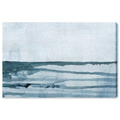 Oliver Gal 'Washed Waves' Canvas Art 10x15x1.5 Inch