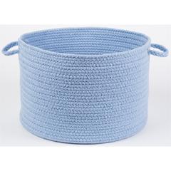 """Rhody Rug WearEver Hydrangea Poly 18"""" x 12"""" Basket"""