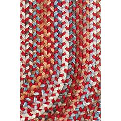 "Rhody Rug Astoria Red Velvet 18"" x 36"" Slice"