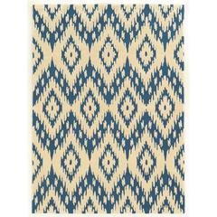 """Trio Collection, 60""""W X 84""""D X 1.5""""H, Blue"""