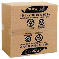100% Recycled Mailing Storage Box, Letter/Legal, Brown, 12/Pack