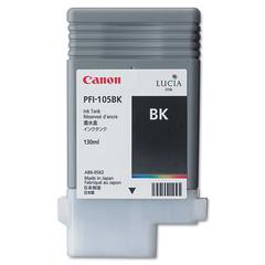 3000B001AA (PFI-105) Ink, 130mL, Black