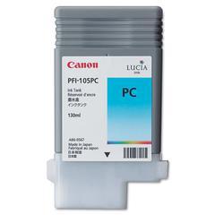 Canon 3004B001AA (PFI-105P) Ink, 130mL, Cyan