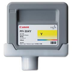Canon 3852B001AA (PFI-304) Ink, 330mL, Yellow
