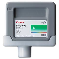 Canon 3856B001AA (PFI-304) Ink, 330mL, Green