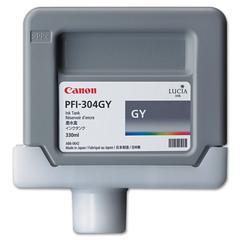 Canon 3858B001AA (PFI-304) Ink, 330mL, Gray