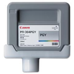 Canon 3859B001AA (PFI-304P) Ink, 330mL, Photo Gray